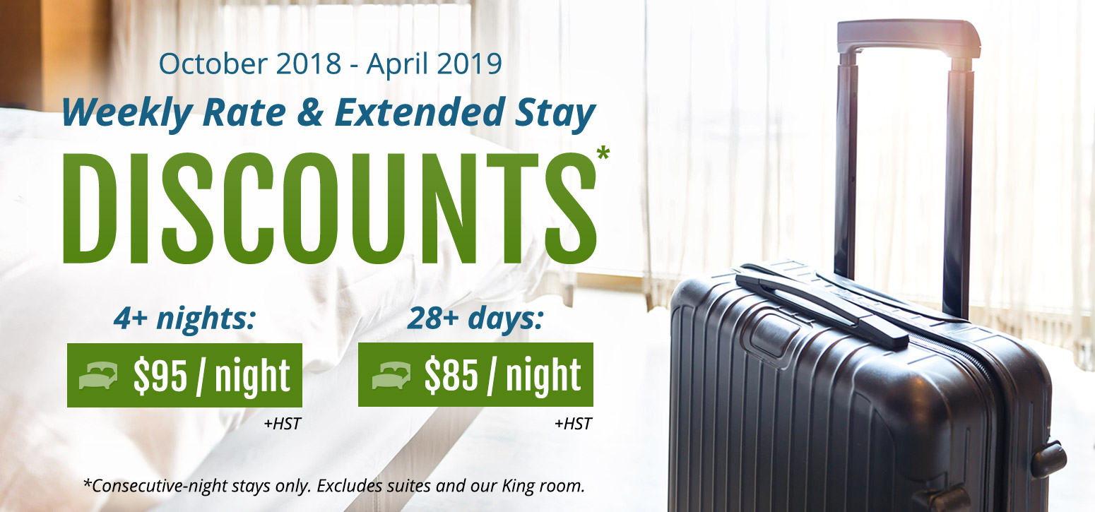 Extended Stay Discounts