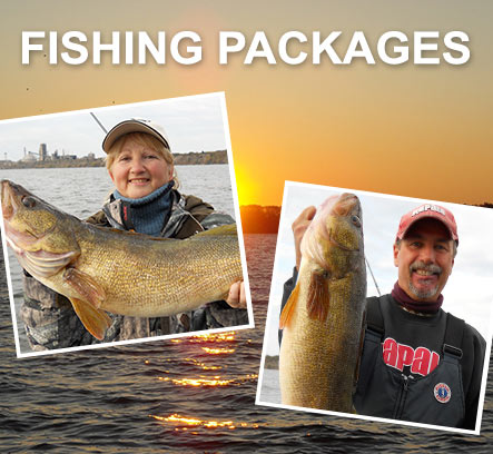 Fishing Packages - Quinte Fishing Charters
