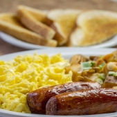 "Enjoy breakfast or lunch in The Lighthouse Restaurant, which has been voted ""Best Breakfast"" for sev"