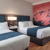 Ground Floor  Rooms<br> 2 Double Beds