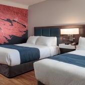 Ground Floor  Rooms<br> 2 Queen Beds